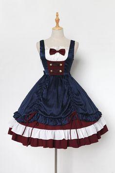 Neverland Lolita -Snow White- Lolita Jumper Dress