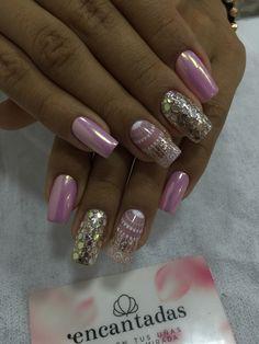 Coffin Nails, Acrylic Nails, Beauty Nails, Hair Beauty, Love Nails, Short Nails, Piercings, Nail Designs, Makeup