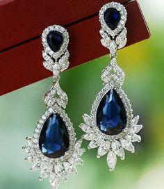 pendientes el envío libre 2014 de la moda coreana del estilo de circón cristal de diamante de imitación de la moda muchachas de las mujeres $7.48 Drop Earrings - yyw