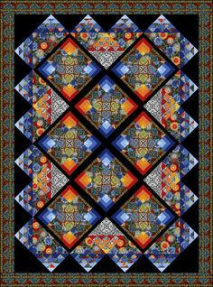 quilt designs images | ... quilt design from his newest Feb. 2012 book The Quilts of Avalon