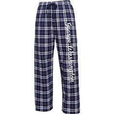 George Washington University Women's Flannel Pants