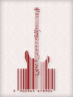 Barcode by mar cin, via Behance
