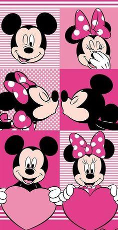 New Wallpaper Backgrounds Disney Minnie 34 Ideas Mickey Minnie Mouse, Arte Do Mickey Mouse, Mickey Mouse E Amigos, Minnie Mouse Pictures, Mickey Mouse And Friends, Mickey Mouse Wallpaper Iphone, Cute Disney Wallpaper, Cartoon Wallpaper, Cute Wallpapers