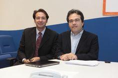 Il segretario generale Renato Pocaterra con il presidente Alberto Fontana