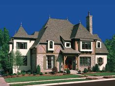 Eplans French Country House Plan - A Plan to be Envied - 5448 Square Feet and 5 Bedrooms(s) from Eplans - House Plan Code HWEPL11642