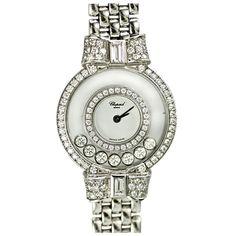 Chopard Happy Diamonds Watch. Fabulous.