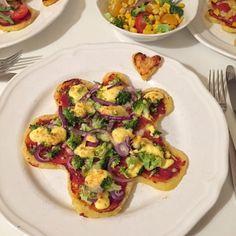 olles *Himmelsglitzerdings*: Werbung: Knödelpizza in 3 Varianten #Kartoffelwoche