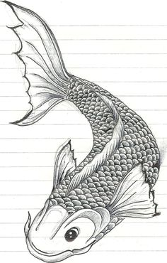 Blobby Biro Pen Koi Fish 1 By Fanta On DeviantART