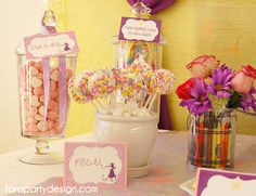 Rapunzel Art Party by Fara Party Design (6)