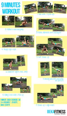 Video 9 minutes workout
