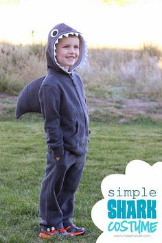 Lots of Halloween costumes- shark costume