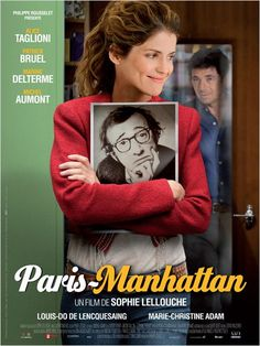 Paris Manhattan, whimsical and charming tale of a woman obsessed with Woody Allen. Shown during the Rochester Jewish Film Festival to a packed house at The Dryden Theater.