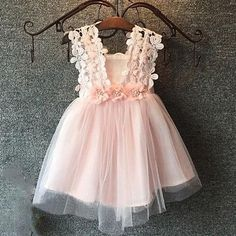"""Neema means """"young"""" - and representing all that this word represents, this dress is delicate and sweet, just like your little girl. Currently Available Made-to-Order ONLY, none in stock for immediate"""