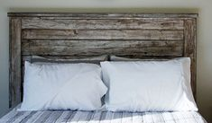 Farmhouse Queen Headboard White Distressed By by FooFooLaLaChild, $275.00