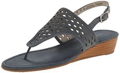 Franco Sarto Women's Charlize Sandal, Jeans, 8.5 M US ** Learn more by visiting the image link.
