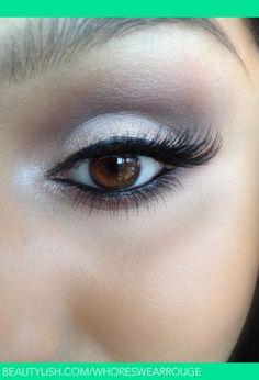 Simple Bridal Makeup Look | Allana M.'s (whoreswearrouge) Photo | Beautylish
