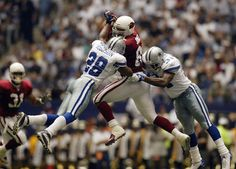 Darren Woodson, 1992 - 2003, played 178 games, position Strong Safety. Woodson was one of the hardest hitters in the National Football League. He played in the Pro Bowl each year from 1994 - 1998. He played his career in Dallas. Woodson totalled 23 interceptions for 271 yards and 2 touchdowns, 11 sacks, 803 tackles, 138 assists, 12 forced fumbles and 11 fumbles recoveries.