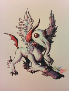 Mega Absol by PinkPalkia.deviantart.com on @deviantART