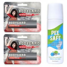 Bodygard Pepper Spray and Pee Safe Combo