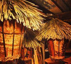 Tiki lamp ideas Tiki Art, Tiki Tiki, Tiki Lights, Tiki Lounge, Tiki Room, Luau, Furniture Decor, Hawaiian, Home Improvement