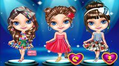 ♥ Trò chơi thời trang ♥ Chị bí đỏ mặc đồ cho bé Na theo phong cách công ...