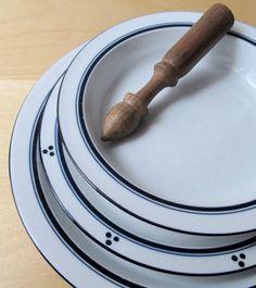 Vintage Dansk Bistro Maribo Porcelain Dinnerware Set 20
