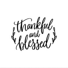 Iron-on Thankful and Blessed Decal // Fall // Thanksgiving Thank You Quotes, Quotes About God, Faith Quotes, Life Quotes, Qoutes, Spiritual Quotes, Positive Quotes, Short Mottos, Grateful Quotes