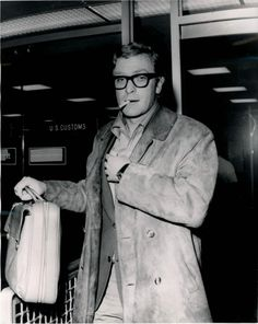 """""""I'm the original bourgeois nightmare - a Cockney with intelligence and a million dollars."""" - Michael Caine"""