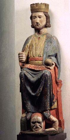 S:t Olaf Grangärde, region of Dalecalia, Sweden made in Sweden 1300-1350