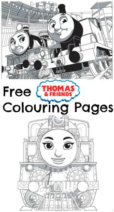 Free Printable Thomas And Friends Colouring Pages From The New Movie Great Race For Toddlers Preschools Who Love