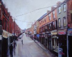 Looking Up Town Bath Street Ilkeston http://ruthgrayimages.net