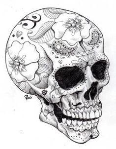 Sugar Skull Ping by PINGriff on deviantART by keri