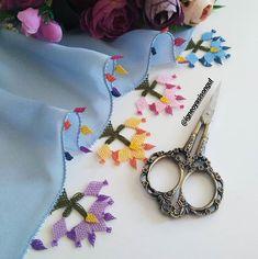 İyi akşamlar 🙋 . En sevdiğim makasım 😍 @kesf_i_kanavice den 💜 . BİR SÜRE SİPARİŞ ALMIYORUM . @igneoyasisongul . . . . . #iğne #instalike… Knots, Elsa, Embroidery, Knitting, Lace, Handmade, Crafts, Jewelry, Instagram