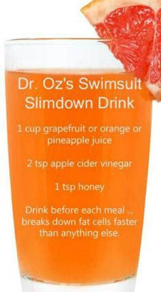 A simple detox smoothie recipe you can make at home. It's Dr. Oz's swimsuit slim down drink!