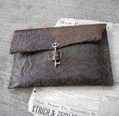 This leather artist case with key closure has been sold, but click through for other items!