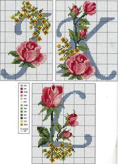 Schema punto croce Abc-rose-2