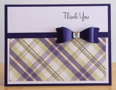 Thank You Card by jenn47 - Cards and Paper Crafts at Splitcoaststampers