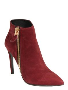 Lola Cruz   Berenga Suede Shoe Boots in Red   CureUK.com