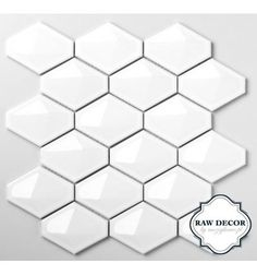 trójwymiarowa przestrzenna mozaika ceramiczna Diamond