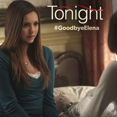 The time has come. See how Elena's journey ends in the season finale of #TVD‬ tonight at 8/7c. ‪#GoodbyeElena
