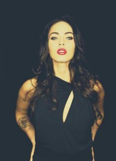 Megan Fox. flawless.