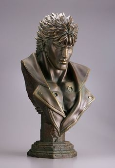 Kenshiro-Bust-Bronze-style-Ver.-Hokuto-no-Ken-Kaiyodo-2.jpg (550×800)