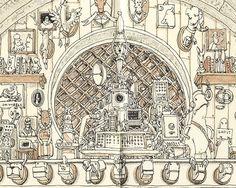 Particolare The Grand Hall, Mattias Adolfsson