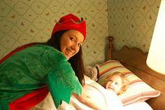 Elf Turndown Service with Cookies and Milk at Omni Mount Washington Resort (Bretton Woods, N.H.)