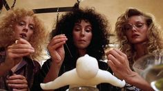 The Witches of Eastwick is a 1987 American comedy-fantasy film based on John Updike's novel of the same name. Directed by George Miller, the film stars Jack Nicholson as Daryl Van Horne, alongside Cher, Michelle Pfeiffer and Susan Sarandon as the eponymous witches.