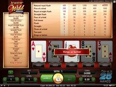Hundreds of top international games, rewarding promotions and jackpots, user-friendly games to play, top security measures and support. International Games, Jokers Wild, Poker Games, Games To Play, Slot, Entertaining