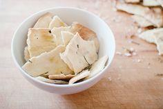 easy rosemary crackers