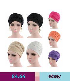 Musim Turban Hijab Hat Cancer Chimio Indian Head perte de cheveux Caps Wrap islamique ARABE
