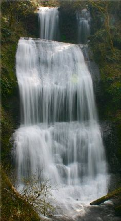 McDowell Creek Falls near Lebanon, OR