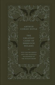 The Greastest Cases of Sherlock Holmes (Leather / fine binding)
